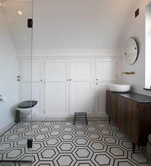 Komplet Renovering Badeværelse i Brønshøj. Pris : 246.065,00 kr