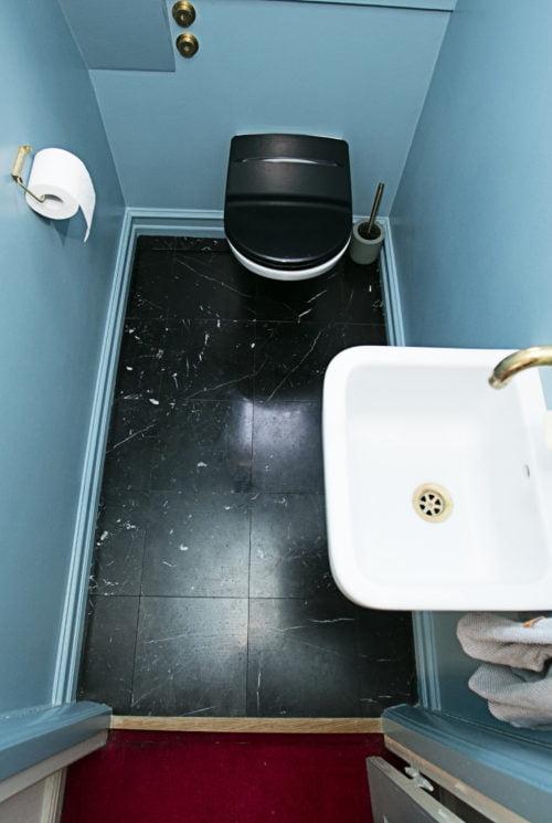 Make over af Gæste wc i Herlev.  Pris 40.615,00 kr